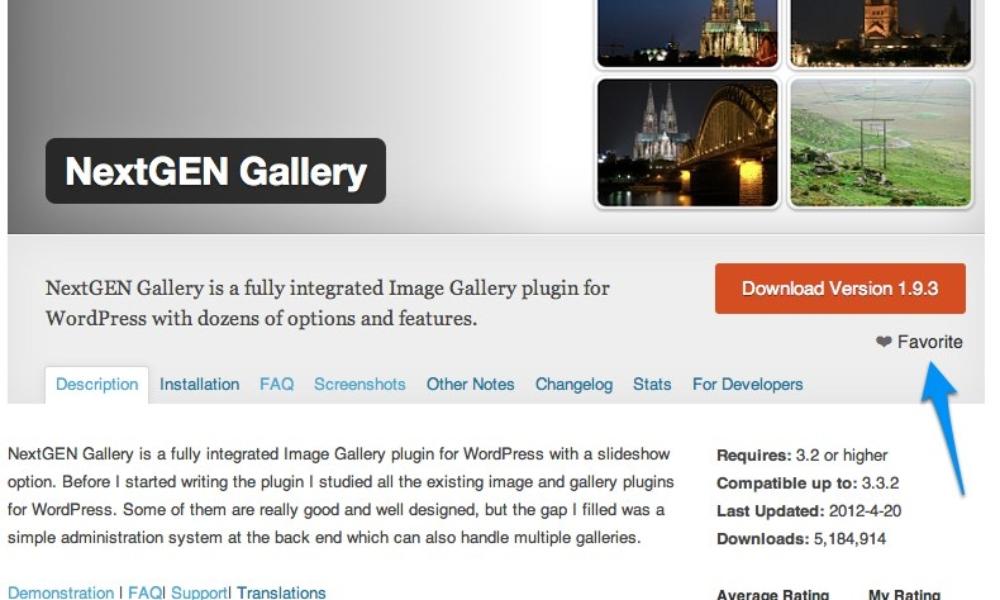 Is NextGEN Gallery Your Favorite?