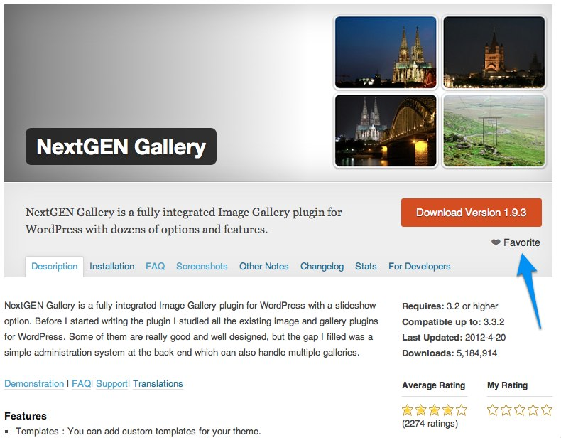 Is NextGEN Gallery Your Favorite?