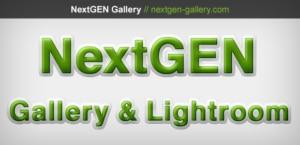 Lightroom To NextGEN Gallery – The Missing Link