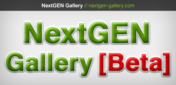 NextGEN Gallery 1.9.5 Beta 1
