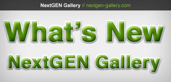 NextGEN Gallery 2.0.58 Now Available