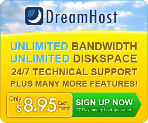wordpress hosting by dreamhost