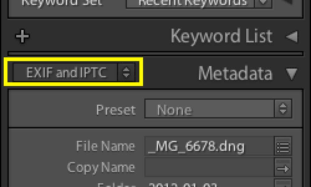 Use Image Metadata Within NextGEN Gallery