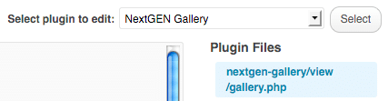 nextgen-gallery-changing-code