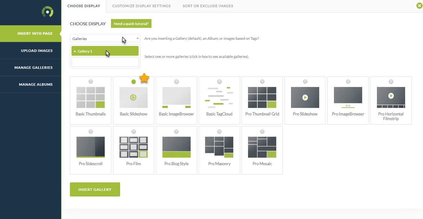 NextGEN Basic Slideshow Gallery
