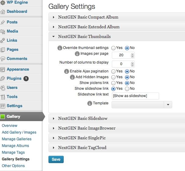 nextgen-gallery-settings