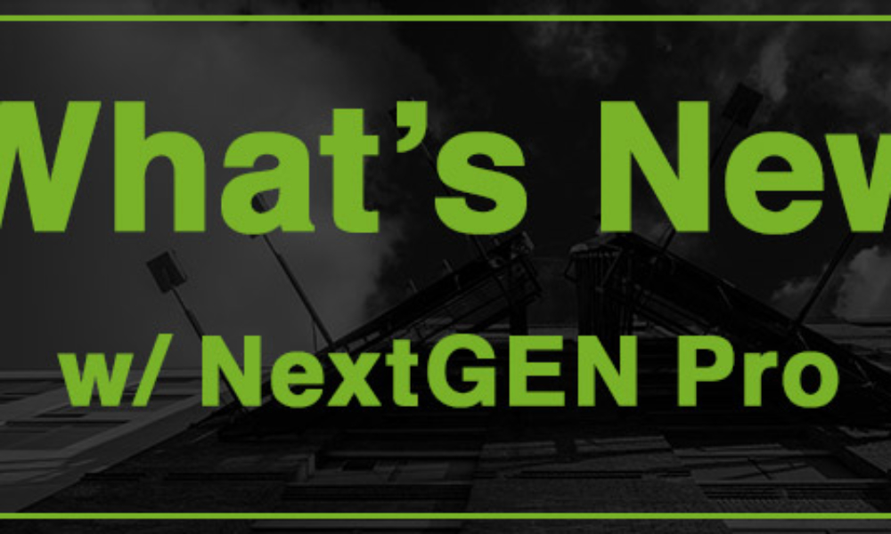 NextGEN Pro 2.1, 2.1.1 & 2.1.4 Now Available