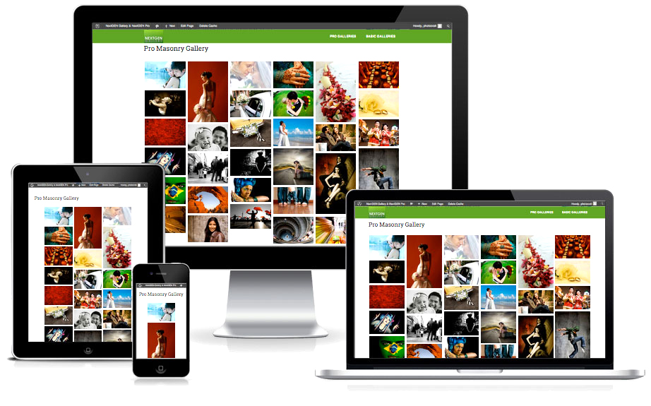 responsive WordPress gallery