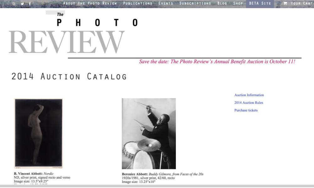 In Action – The Photo Review Auction