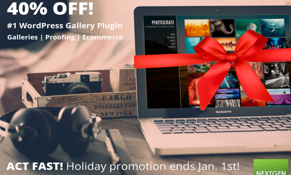Holiday & New Years Deals from NextGEN & Photocrati