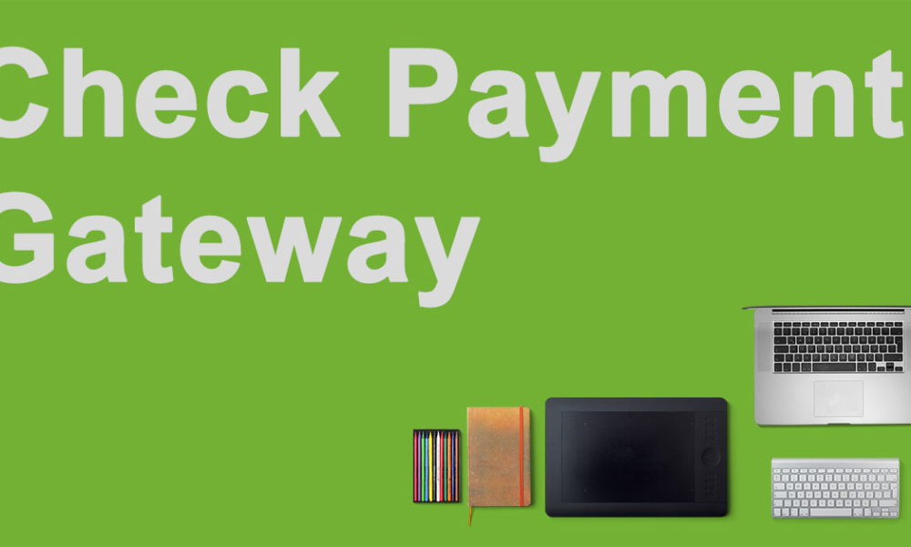 NextGEN Pro Ecommerce Now Includes A Check Payment Gateway