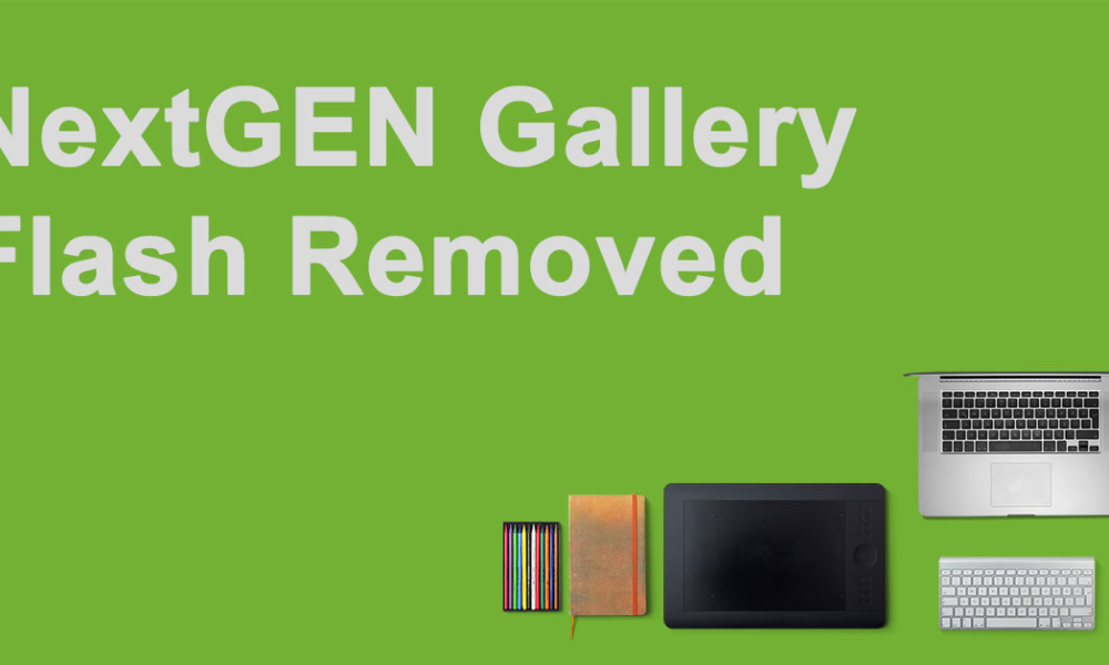 Important – NextGEN Gallery No Longer Includes A Flash Option