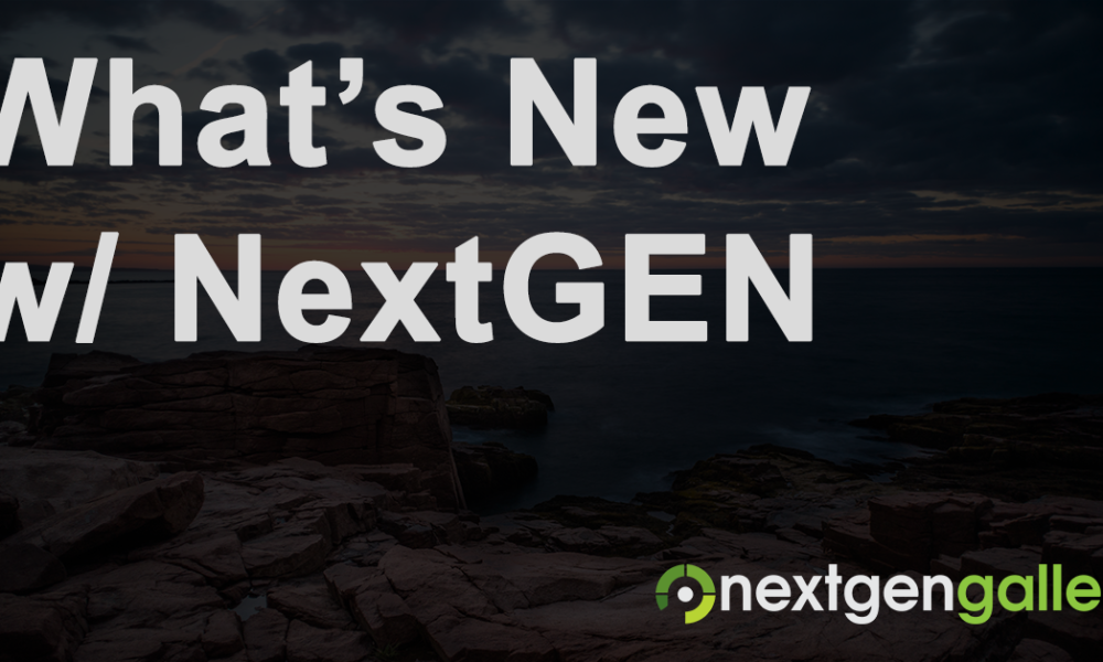 NextGEN Gallery 2.1.9 Now Available