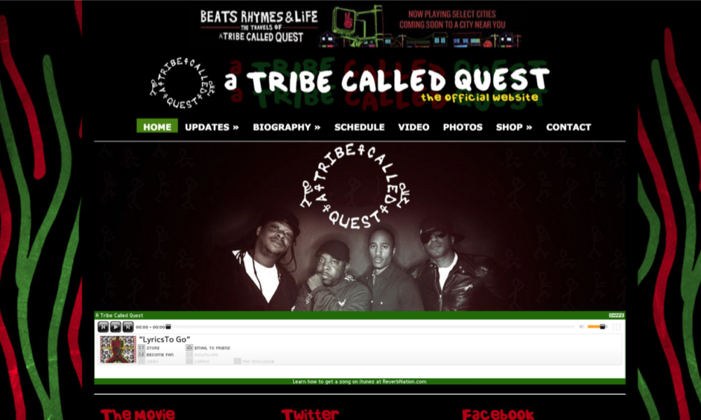 In Action – A Tribe Called Quest