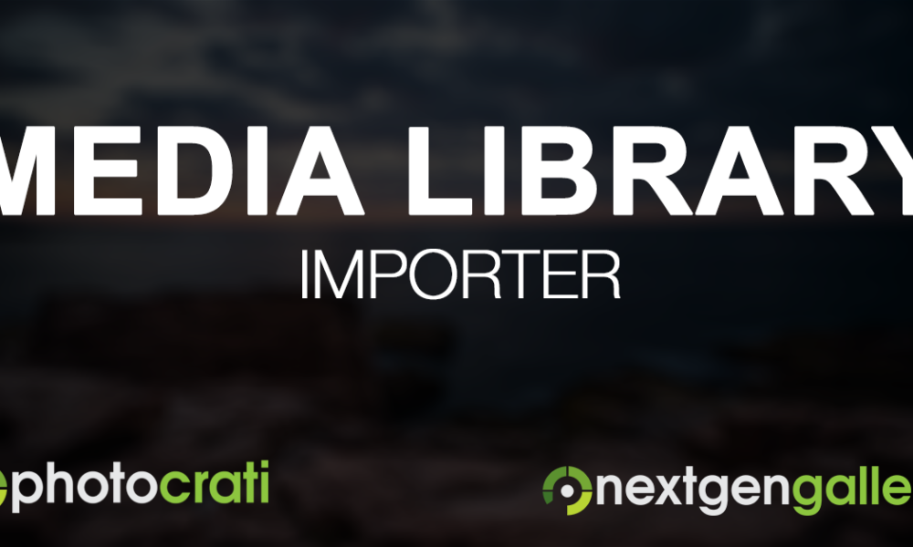 The NextGEN Gallery Media Library Importer