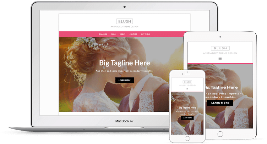 Blush - WordPress Photography Theme
