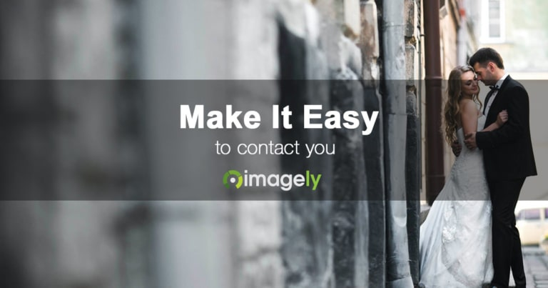 Photographers, Make It Easy To Contact You