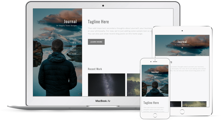 Journal - WordPress Photography Theme