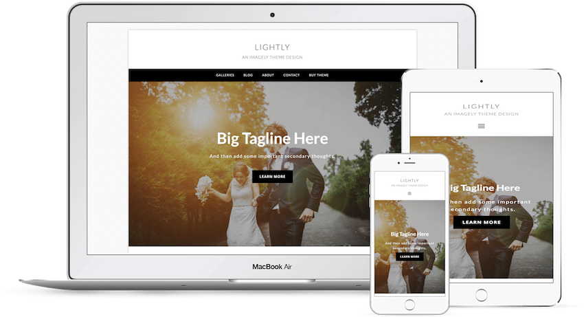 Lightly - WordPress Photography Theme