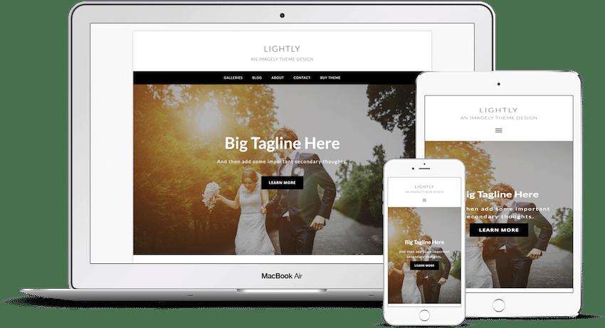 Lightly - WordPress Photography Theme