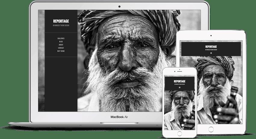 Reportage - WordPress Photography Theme