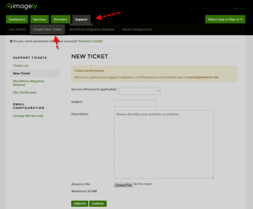 Imagely_Support_NewTicket