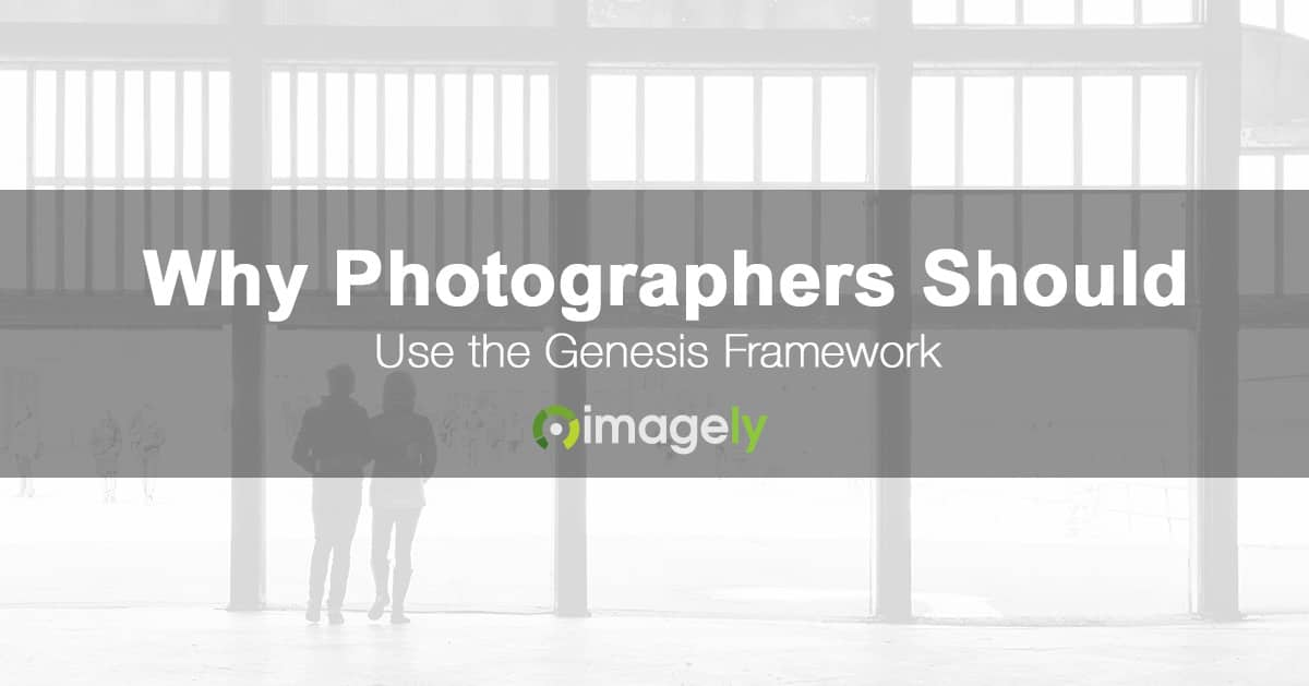 Why Photographers Should Use The Genesis Framework