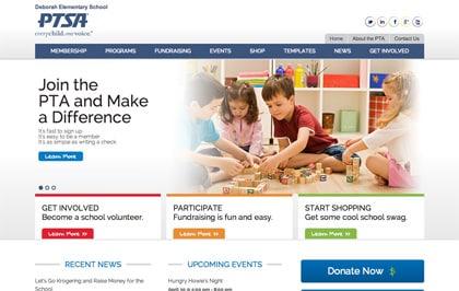 Deborah-PTA-Website-Home-Page
