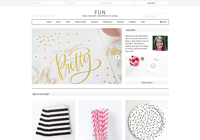 Fun-WordPress-Theme