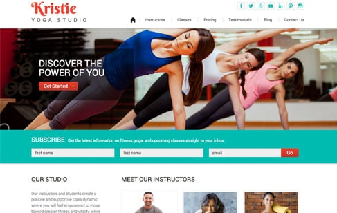 Kristie-Yoga-WordPress-Theme