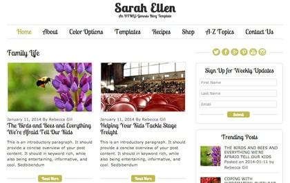Sarah-Ellen-–-Genesis-Blog-Template