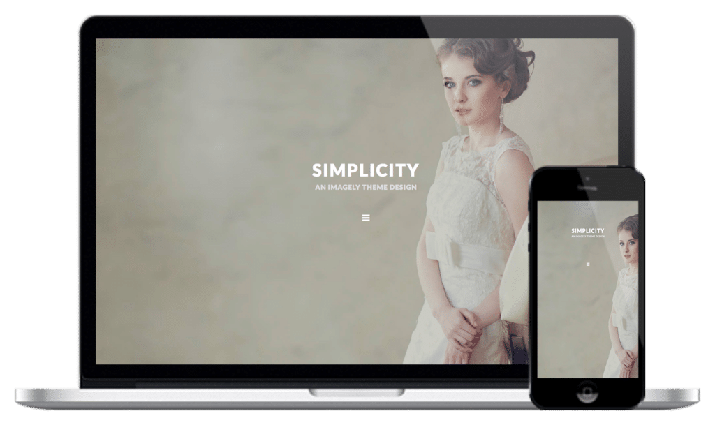 Simplicity - An Imagely Theme