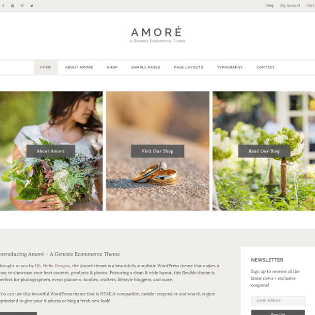 amore-genesis-ecommerce-child-theme-1