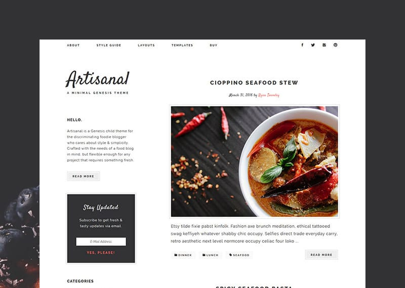 artisanal-minimal-genesis-theme