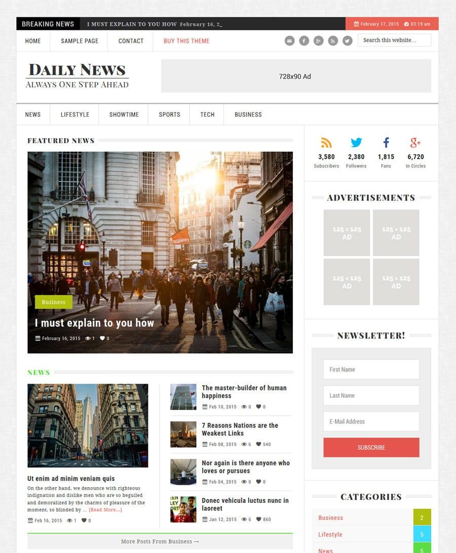 daily-news-theme