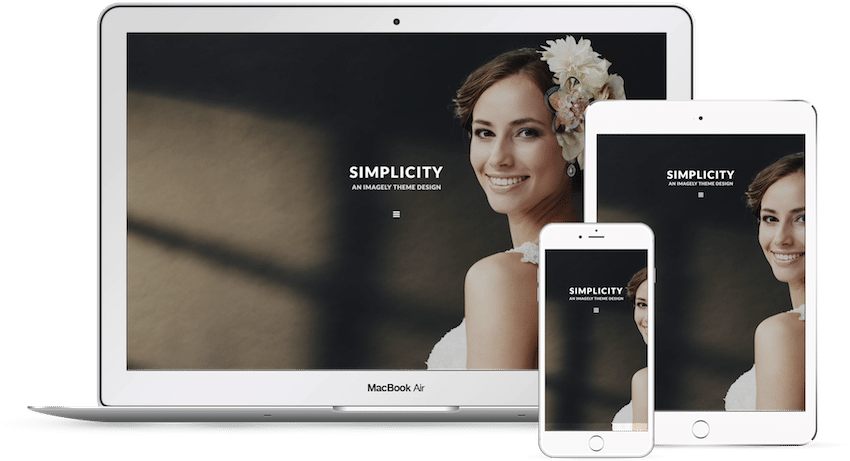 Simplicity - WordPress Photography Theme