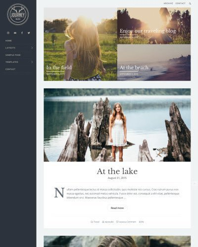 wordpress-theme-journey