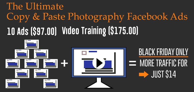 Copy and Paste Facebook Ads for Photographers