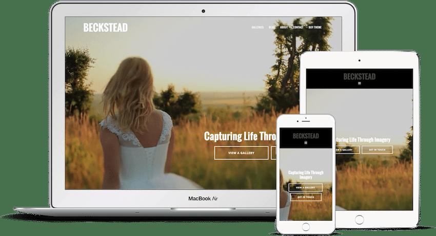 Beckstead - WordPress Photography Theme