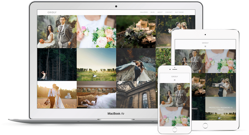 Gridly - WordPress Photography Theme