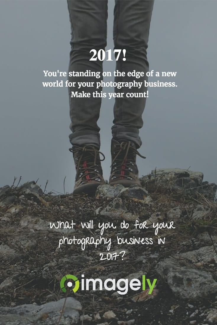 What will you do for your photography business in 2017?