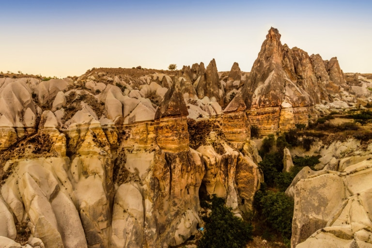 Montgolfier in Cappadocia  by Jayant Neogy