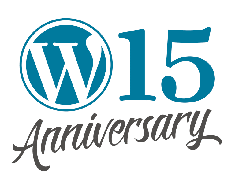 Celebrating the WordPress 15th Anniversary