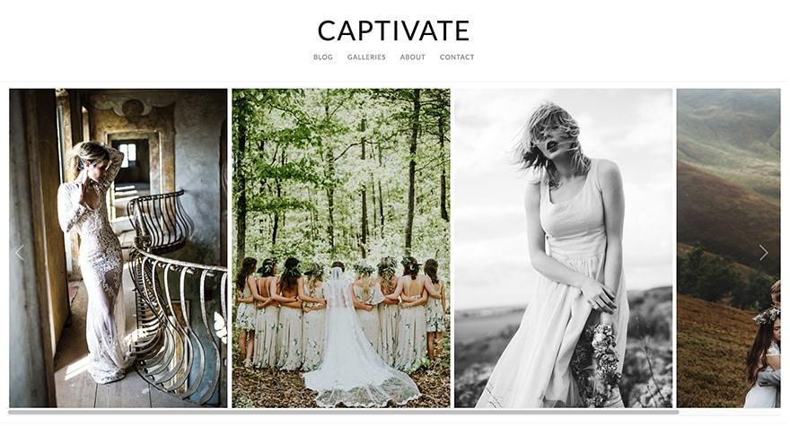 Captivate WordPress Photography Theme