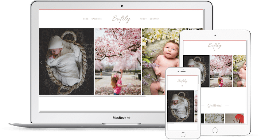 Softly - WordPress Photography Theme