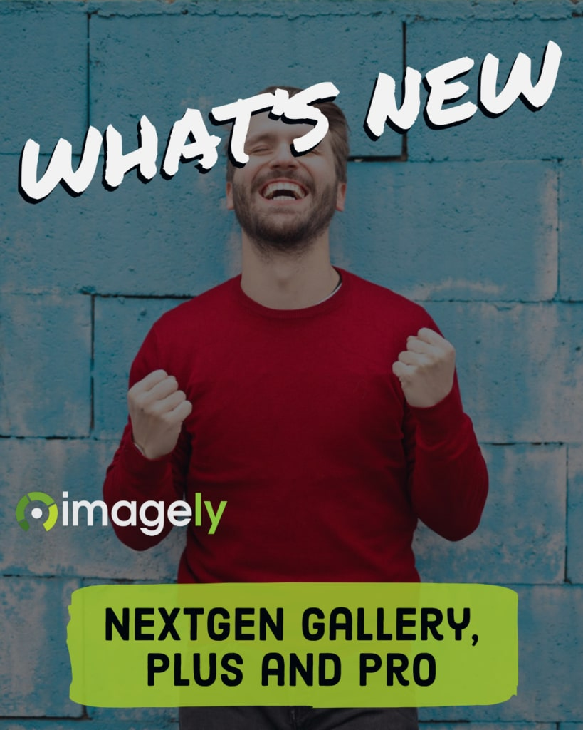 What's new with NextGEN Gallery, Plus and Pro