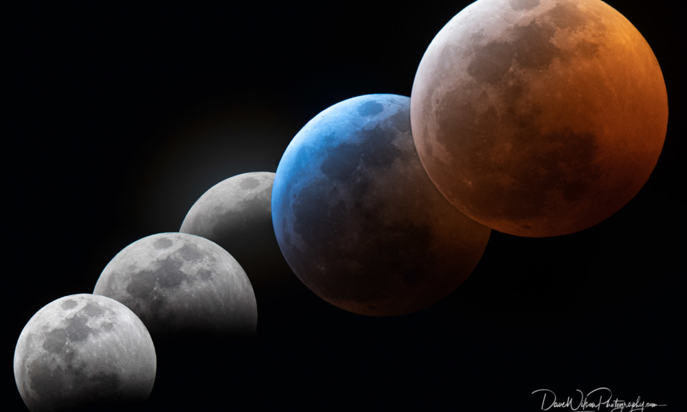 Making A Lunar Eclipse Photo