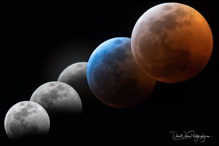 Making A Lunar Eclipse Photo