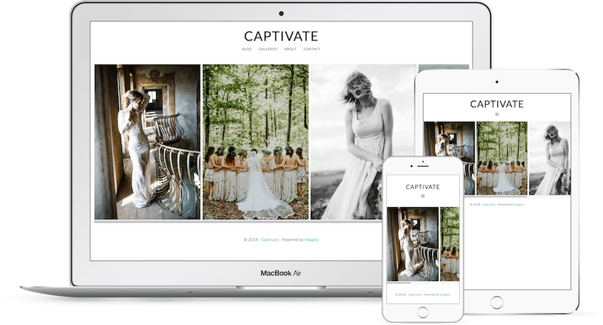 Captivate - WordPress Photography Theme