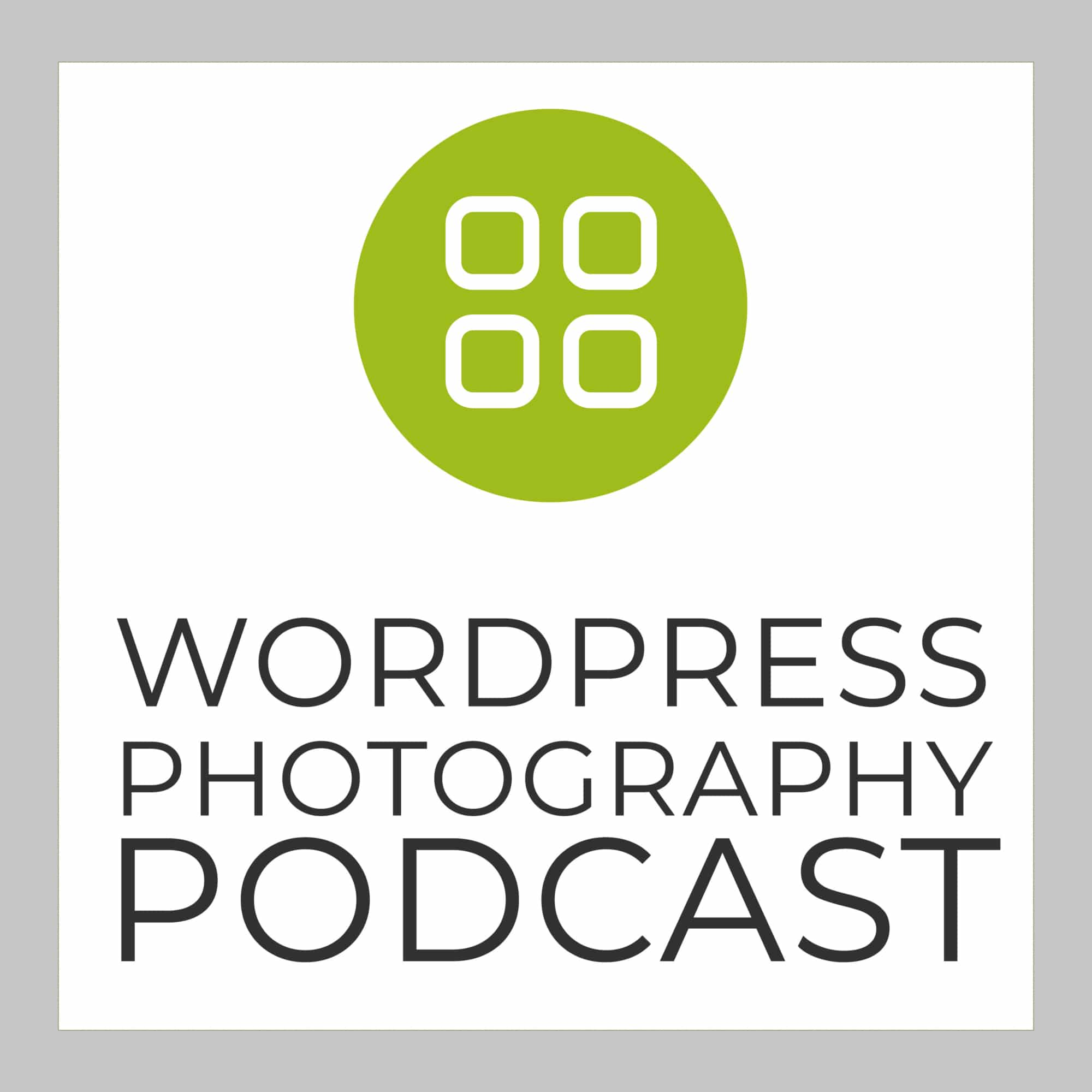 The WordPress Photography Podcast Logo